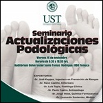 Seminario Actualizaciones Podológicas. Temuco Viernes 16 noviembre 2012