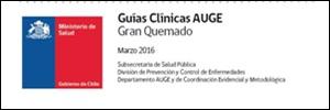 Guía Clínica. Manejo del paciente gran quemado – MINSAL Chile 2016