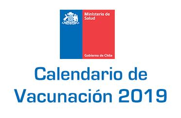 Calendario Vacunas MINSAL Chile 2019
