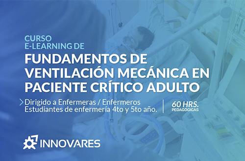 Curso E Learning Fundamentos de Ventilación Mecánica en Paciente Crítico adulto – OTEC Innovares