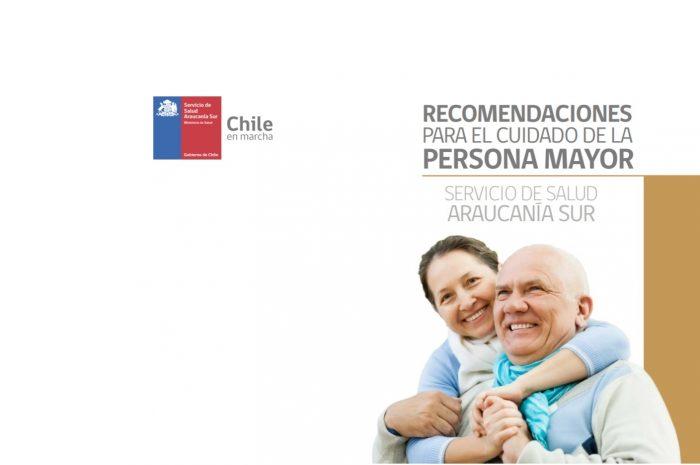 Recomendaciones para el cuidado de la persona mayor. SSAS  2019