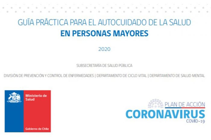 Guía práctica para el autocuidado de la salud en personas mayores. COVID-19 MINSAL Chile 2020